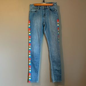 Artisan de Luxe colourful jeans